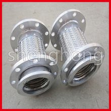 "4"" flange connect stainless steel corrugated metal expansion joint"