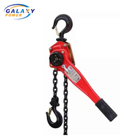 0.75Ton Hand Chain Block Standard Ratchet Manual Lever Chain Hoist for Lifting Goods