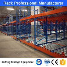 China Brand Q235 Steel Stack Gravity Roller Pallet Rack