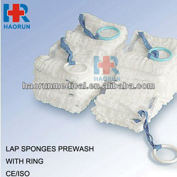 "sterile lap sponges 40s 24x20 18""x18""-4ply from china"