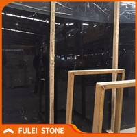 Cheap Black Marble with White Veins Slab Price