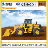 high quality DG brand tcm 4 wheel drive tractor with front loader
