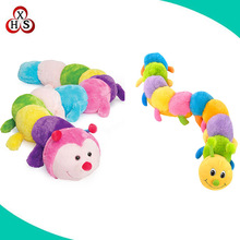 Shenzhen plush baby toys caterpillar stuffed soft toy plush worm toy