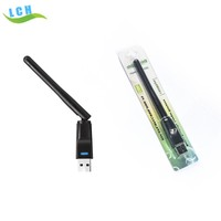 High power RT5370 chipset 150Mbps 802.11N/G/B Wireless usb wifi adapter with external antenna for skybox openbox