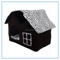 Soft Pet Dog Bed Kennel Warm Washable Puppy House