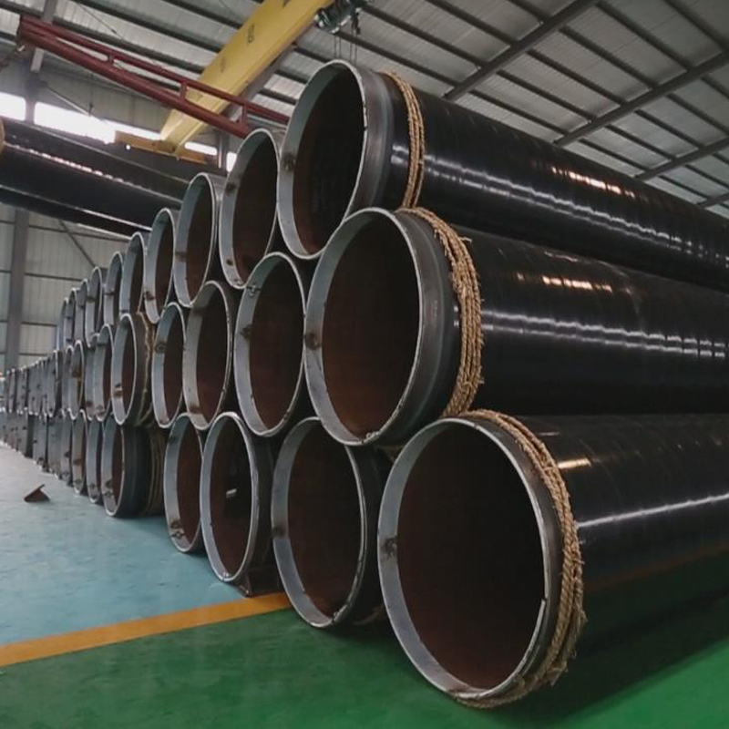 Best quality carbon steel cement lined pe coated steel pipe