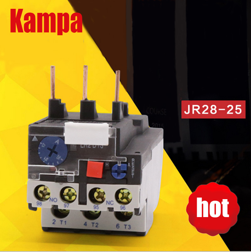 Thermal Overload Relay,Magnetic Thermal Relay JR28 LR2-D13 1.6-2.5A
