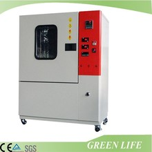 Computer controlled temperature controlled rubber aging test oven with air ventilation