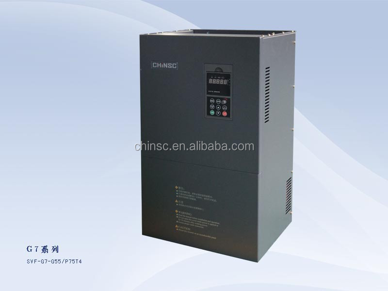 55kw for water pump variable frequency drive ac motor speed controller