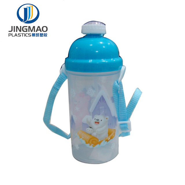 New Plastic Water Bottle 400ML For Children cheap pctg sport bottle with ice tube