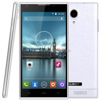 Cubot P7 4GB White, 5.0 inch 3G Android 4.2.2 Smart Phone, MT6582M Quad Core 1.3GHz, RAM: 512MB, Dual SIM, WCDMA & GSM
