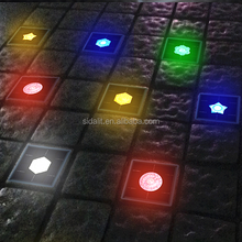 Sunlight power led floor mounted solar paver lighting