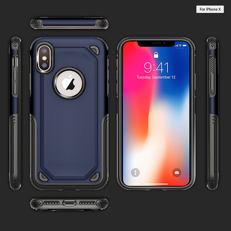 Shockproof slim tpu pc cell phone luxury back case <strong>cover</strong> for apple iphone x, for iphone x case luxury back <strong>cover</strong>