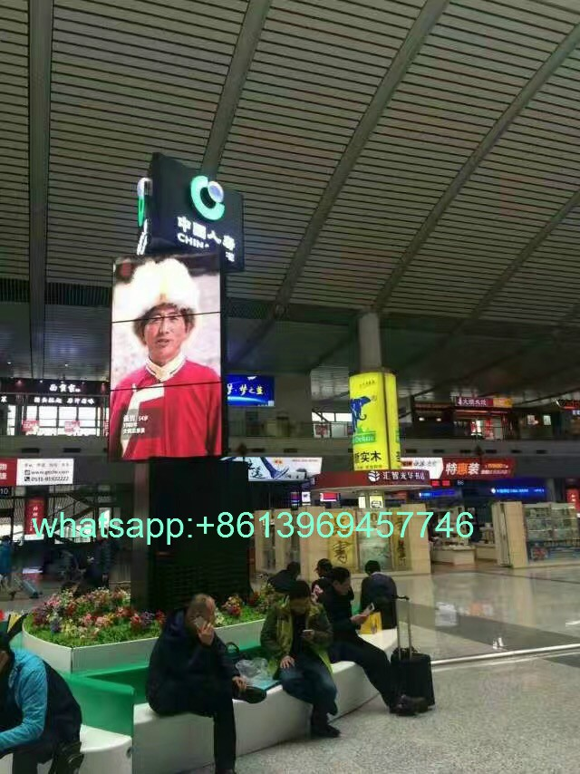 indoor advertising vortical LED screen