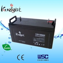12V 100AH Maintenance free sealed lead acid rechargeable battery