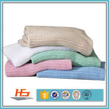 Customized Thermal Pure 100% Cotton Hospital Bedding Blankets