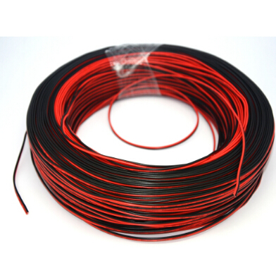 12 awg speaker wires red black flat cable