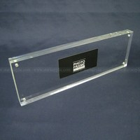 Panoramic Clear Block Frame, Acrylic Sandwich Frames, Perspex Picture Frames