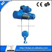 Small motor pulleys CD1MD1Wire Rope Electric hoist/electric wire rope hoist/hoist crane