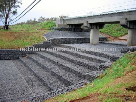 gabion baskets retaining wall /quality gabion baskets / quality gabion rock infill