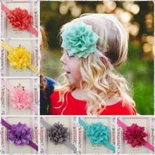 2017 Wholesale Fashion Fabric Little Girs Floral <strong>Hair</strong> <strong>Accessories</strong>/Baby Flower Headband