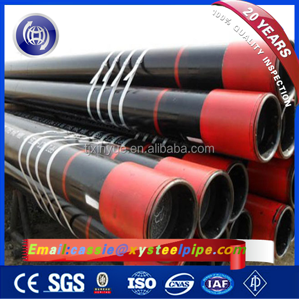 API 5CT OCTG K55 ERW / SMLS Seamless Oil Casing and Tubing Pipes