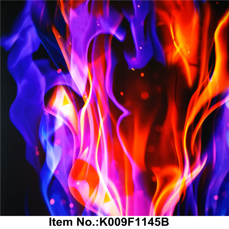 Cool Fire film PVA material No. K009F1145B hydro dipping film immersion printing for car, motor bike, stone