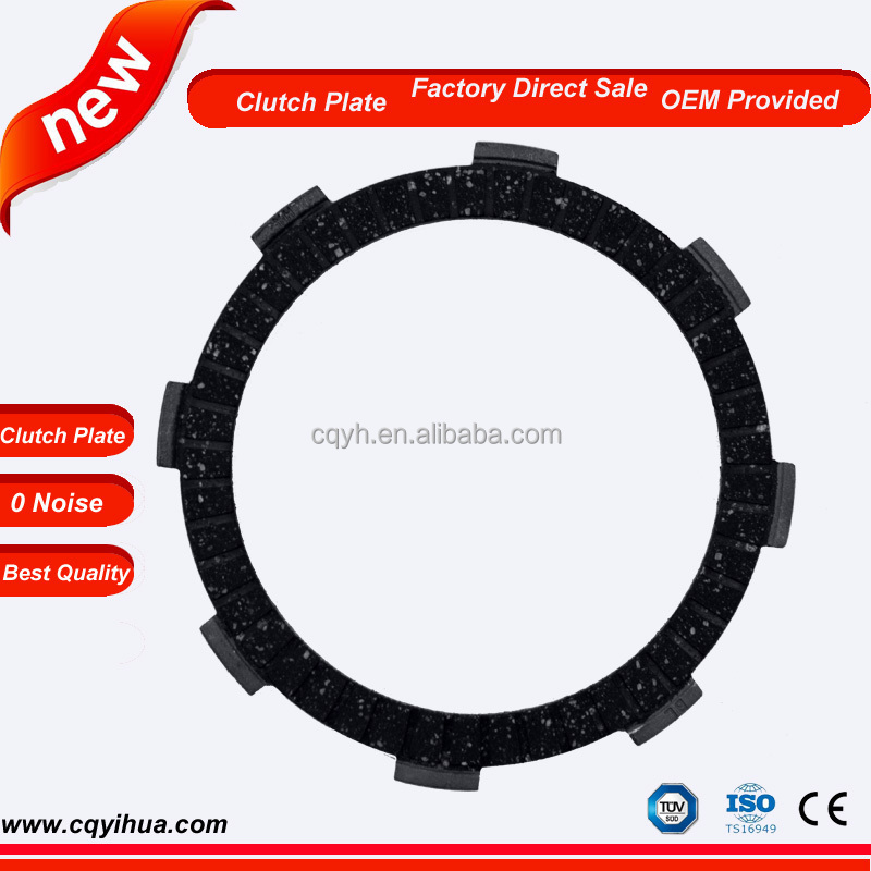 OEM dry friction clutch for motorcycle transmission