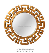 Round wall mirror for home/hotel decor GY-121P-01