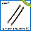 "YUTE brand high quality sae j1401 hydraulic brake hose 1/8"" hl with dot"