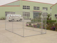 galvanised steel outdoor dog cage
