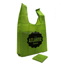 Top Quality Daily Grocery Nylon Foldable Tote Shopping Bag
