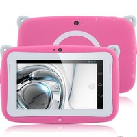Bulk wholesale android custom manufacture OEM easy touch colorful 4.3 inch kids tablet