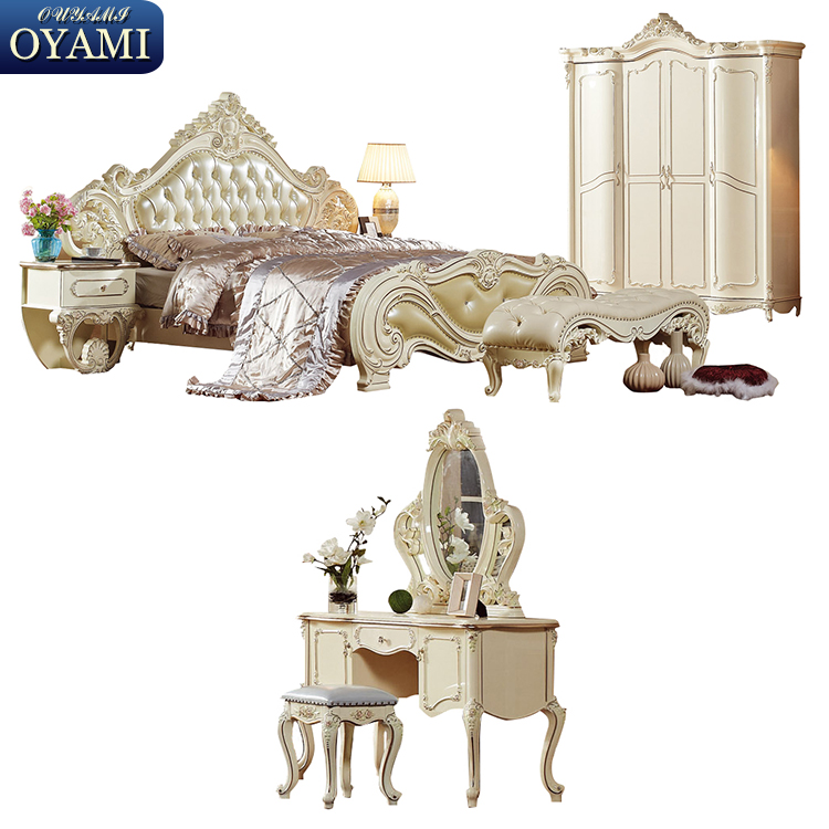 China wholesale Hot selling royal home bedroom furniture