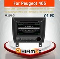 HIFIMAX Android 4.4.4 car dvd player for Peugeot 405 WITH Capacitive screen 1080P 16G ROM WIFI 3G INTERNET DVR SUPPORT