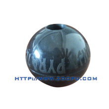 Customized food grade silicone solid rubber ball with logo