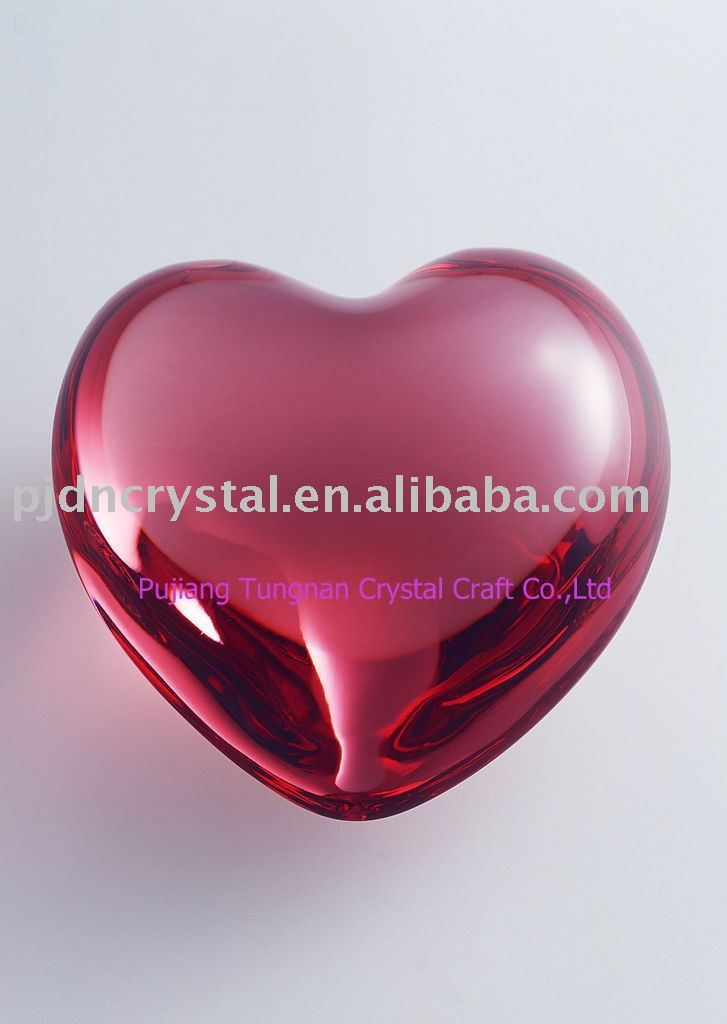 wholesale crystal hearts gifts for wedding gifts