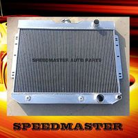 all polished car aluminum radiator for Chevy Impala 1960-1963/Bel-Air 1963-1965