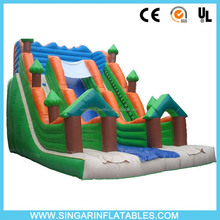 Fun games Inflatable bounce house slide climbing slide bouncer