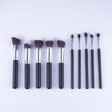 Wholesale Makeup Tools And Accessories Synthetic Hair Makeup Brush 10 Set