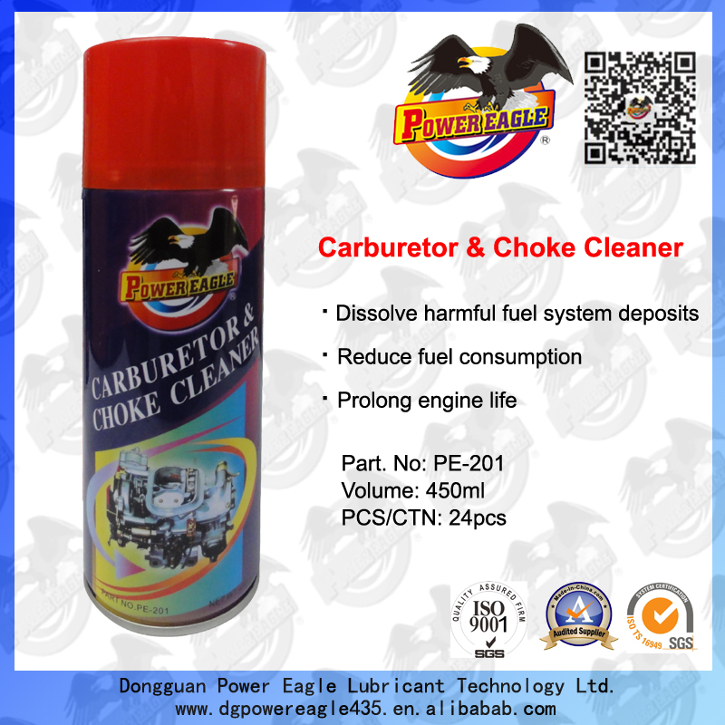 Power Eagle Carb Cleaner Spray Carburetor& Choke Cleaner