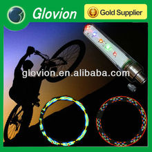 Colorful LED wheel light Waterproof bike bicycle car motorcycle spoke light LED tire tyre valve cap light