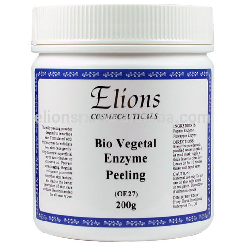 high quality fruit enzymes exfoliating powder peel off face mask