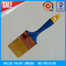 Factory Supply Flat Surface high quality White or black pig bristle wall cleaning paint brushes as seen on TV