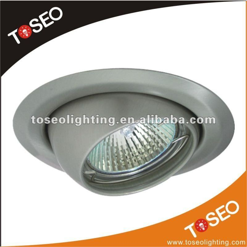 die casting aluminium ce rohs vde mr16 gu10 3w 50w 35w 9w satin nicek chrome white ceramic lamp