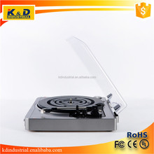 USB SD Suitcase Bluetooth Turntable Vinyl Record Player