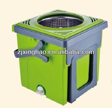 spin mop - newest compact folding mop bucket system foldable spin and go dispenser plastic bottle