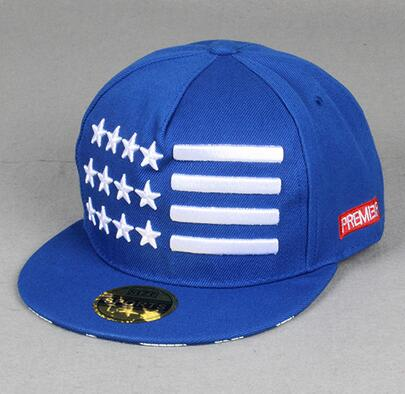 Hot sale Embroidery stars cotton Snapback baseball outdoor summer sports hats trucker hiphop visor cap