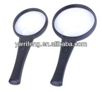 2014 Promotion gifts pocket led magnifier/acrylic lens/magnifier slim dvd player