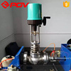 WCB material electronic type electric regulating valve dn100